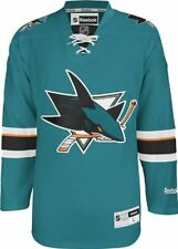 NHL San Jose Sharks Men's Center Ice Team Color Premier Hockey Jersey MSRP $130