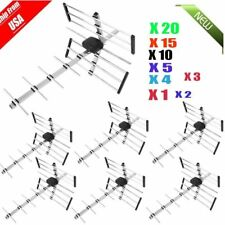 LOT 1 ~20pc Outdoor 100 Miles HD TV Directional UHF/VHF/FM Antenna SK