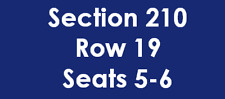 2 NEW YORK YANKEES ALCS Game 5 10/18 HOUSTON ASTROS TICKETS SECTION 210 ROW 19