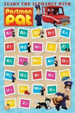 Postman Pat Learn The Alphabet Poster 61x91.5cm
