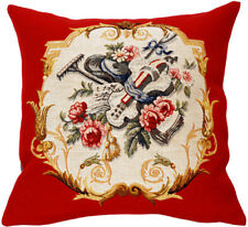 Jardinier French Gardening Tapestry Cushion Pillow Cover - 18 x 18 - NEW