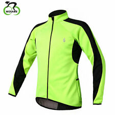 Soft Shell Pro Cycling Wind Coat Winter Men Thermal Fleece Elastic Sports Jacket