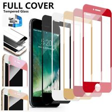 Full Cover 3D Curved Film 9H Tempered Glass Screen Protector for iPhone 6 7 Plus