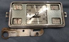 1946 - 1950 Willys Jeep Truck Wagon Jeepster Delivery speedometer by King-Seeley