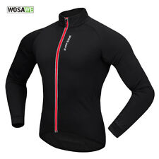 Thermal Fleece Winter Men Cycling Jacket Windproof Quick Dry Outdoor Sports Coat