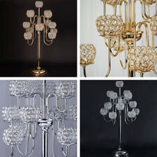 "40"" tall Crystal Beaded Candle Holder Candelabra Wedding Party Centerpiece SALE"