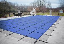 HPI BLOC 99 BLUE Mesh Rectangle Swimming Pool Safety Cover - 12 Year Limited WTY