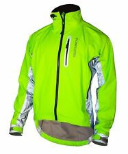 Showers Pass Men's Hi-Vis Elite Jacket - with Red LED Beacon Lights
