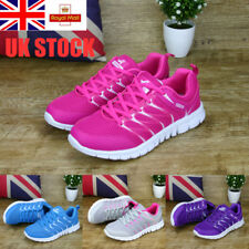 UK Womens Mesh Breathable Sneakers Ultralight Comfy Trainers Running Shoes Size