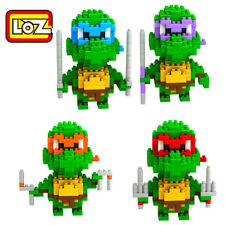 4 Set Mini Teenage Mutant Ninja Turtle figures Nano Diamond Blocks Building Toys