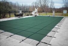 HPI BLOC 99 GRAY Mesh Rectangle Swimming Pool Safety Cover - 12 Yr Limited WTY