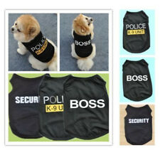 Fashion Small Dogs Cat Vest Security Puppy T-Shirt Coat Pet Clothes Apparel Hot