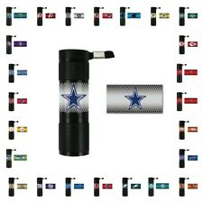 TWO (2) NFL 9X LED FLASHLIGHTS FROM TEAM PROMARK (BATTERIES ARE INCLUDED)