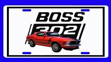 NEW 1970 Ford Mustang (Boss and Mach 1) License Plate!! FREE SHIPPING!!