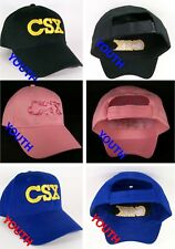 CSX Transportation Railroad Embroidered Youth Kids Cap Hat 40-0022Y CHOOSE COLOR