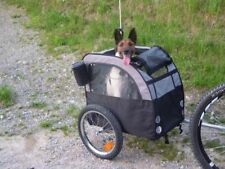 Dog Pet Bike Trailer Pushchair Carrier Water Dirt Resistant Hitch For 2nd Bike