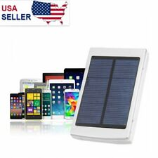 LED 50000 mAh Solar Panel Battery Charger Power Bank Dual USB Charger US STOCK
