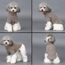 Pet Dog Woolen Sweater Winter Warm Clothes Puppy Sweater Turtleneck Clothing