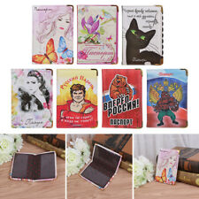 Russia Russian Travel Passport Holder Protect Cover Case Card Container Pouch