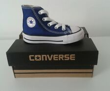 CONVERSE ALL STAR HI TOP TODDLERS KIDS INFANTS TRAINERS SHOES