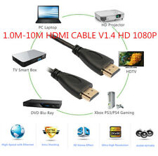 1.0M-10M HDMI CABLE V1.4 HD 1080P For LCD HDTV TV PS4 PS3 3D XBOX Bluray lot QP