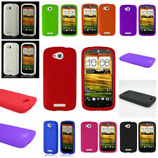For HTC One VX Soft Case - Silicone Rubber Gel Lightweight Flexible Skin Cover