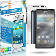 For LG Optimus F6 Mirror Screen Protector LCD Film Shield Cover