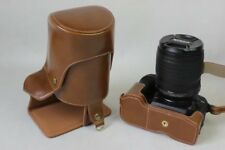Leather Camera Bag Cover Case For Canon EOS 550D 1100D 1200D 1300D Bottom Open