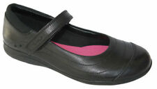 NEW Clarks DAISY DENA Older Girls Black Leather School Shoes 1 - 2.5 Jr FGH Fit