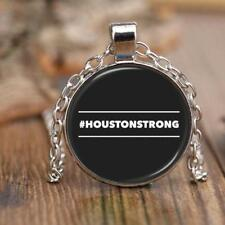 "#HOUSTONSTRONG HASHTAG HOUSTON STRONG * 18"" Adjustable Rolo Chain Necklace"