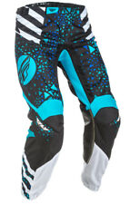 FLY Racing Kinetic Youth Girls MX Offroad Pants Blue/Black