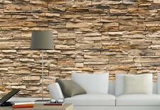 Modern 3D Brick Stone Wallpaper Bedroom Mural Roll Wall Background Vintage Home