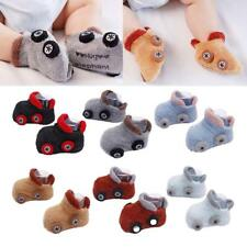 Baby Girl Boy Anti-slip Car Socks Cartoon Newborn Slipper Shoes Boots pwus