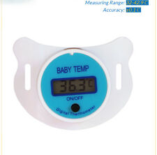Baby Nipple Silicone Pacifier LCD Digital Children's Thermometer Safety Care