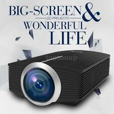 YG-500 Mini LED LCD Video Projector 1200 LM 800 * 480 HD 1080P Home Theater E7D1