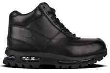 NEW Nike Air Max Goadome 865031 009 Men's Black Athletic Lifestyle Leather Boots