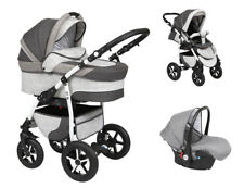Baby Pram Stroller Buggy Pushchair Baby Merc Q9 3in1 car seat