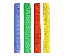 NEW PREMIUM QUALITÄT CRICKET BAT GRIPS CIRCLE STYLE WHITE YELLOW BLUE BAT GRIP