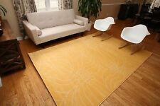 RUGS AREA RUGS CARPETS 8x10 AREA RUG LARGE FLOOR MODERN FLORAL YELLOW RUGS ~NEW~