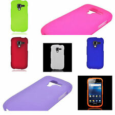 For Samsung EXHILARATE I577 Hard Plastic Slim Rubber Shell Phone Cover Case
