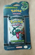 Pokémon Factory Sealed Unopened Blister Booster Pack EX Emerald