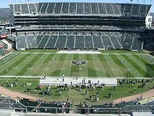 2-50 YdLn Row 3 AILSE DENVER BRONCOS @ OAKLAND RAIDERS TICKETS-SOLD OUT! 11/26