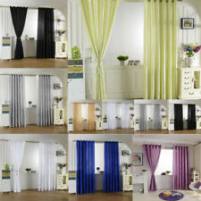 Slot Top/Eyelet RING TOP Window Curtains Thermal Blackout Blind Home Drape Panel