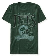 NWT MENS NFL JETS SHORT SLEEVE GRAPHIC T SHIRT S  M L   AEROPOSTALE
