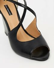 Nina Armando Celina - Black Womens Heels Wedges Wedge Sandals