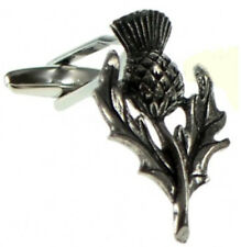 Scottish Scott Scotland Pewter Rugby Thistle Gift Cuff links By CUFFLINKS.DIRECT