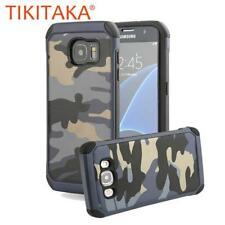 2 in 1 Camouflage Case For Samsung Galaxy S7 S6 edge Plus Note 5 Funda Fashion D