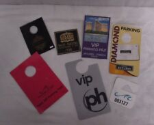 Assorted Las Vegas VIP Parking Passes Slips 7 Total