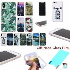 Fashion SOFT RUGGED TPU Silicone 1.2mm GEL THICK Back Case Cover Skin For iPhone