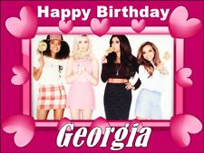 A4 LITTLE MIX EDIBLE PHOTO CAKE TOPPER PERSONALISED EDIBLE PHOTO ICING ITEM411